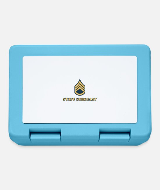 Cop Lunchboxes - Staff Sergeant - Lunchbox sapphire blue