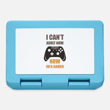 I Can't Adult Now, Now I'm Gamer - Lunchbox