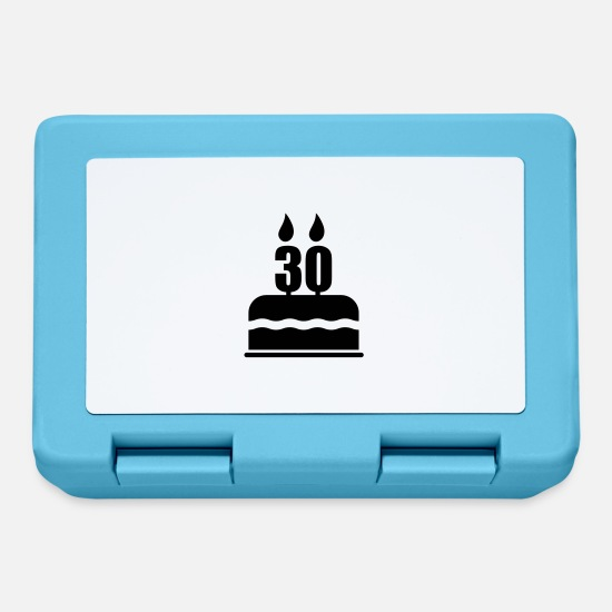 Birthday Lunchboxes - 30 ans anniversaire - Lunchbox sapphire blue