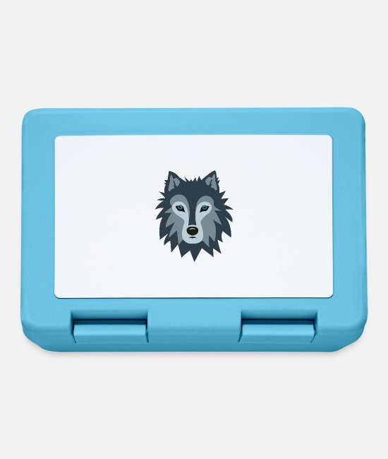 Stag Lunchboxes - Wolf - Lunchbox sapphire blue