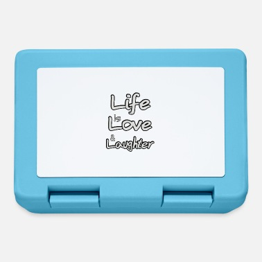 Laughter Life is love and laughter - Lunchbox