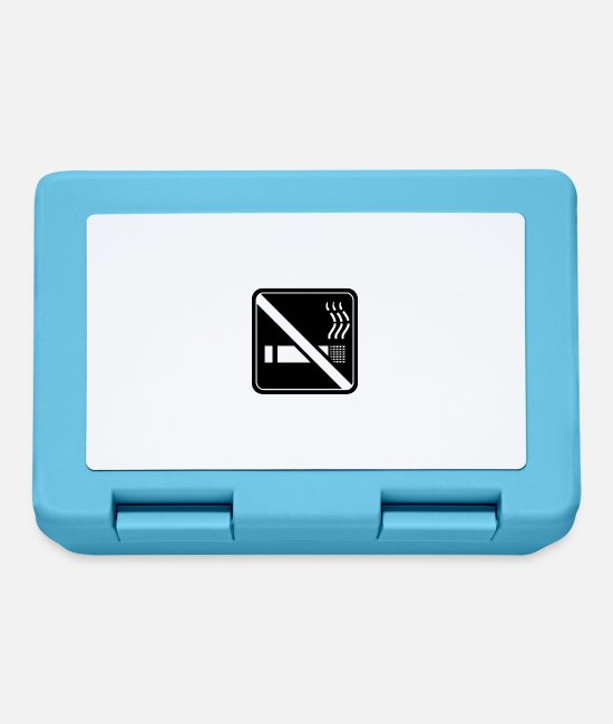 Nicotine Lunchboxes - Non smoking - Lunchbox sapphire blue