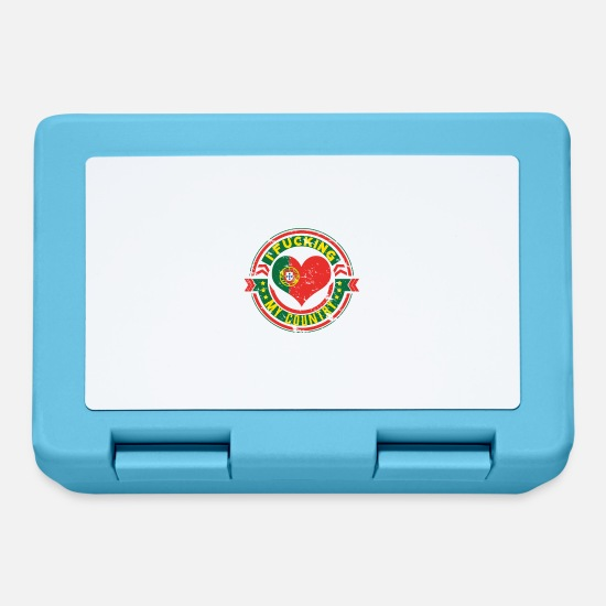 Love Lunchboxes - I love my country Portugal - Lunchbox sapphire blue