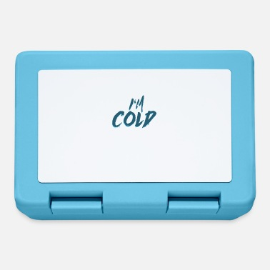 Cold I am cold - I am cold, winter gift cold - Lunchbox