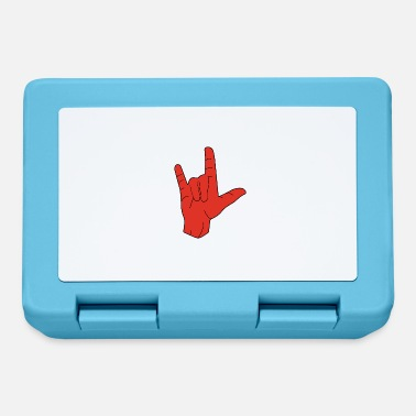 Hand Sign Hand sign sign language love - Lunchbox