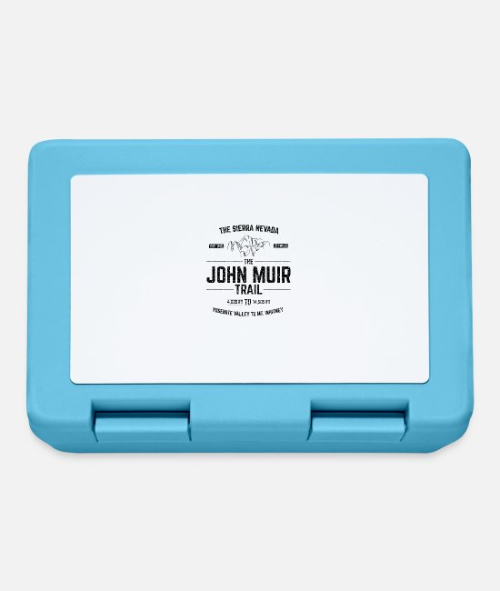 Distressed Lunchboxes - The John Muir Trail JMT for ThruHikers - Lunchbox sapphire blue