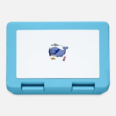 Popular Scuba Diving Whale Shark Squid Diving I Gift - Lunchbox