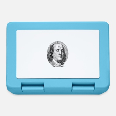 Federal Reserve $ 100 Benjamin Franklin - Lunchbox