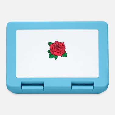 Ostrich Big rose - Lunchbox