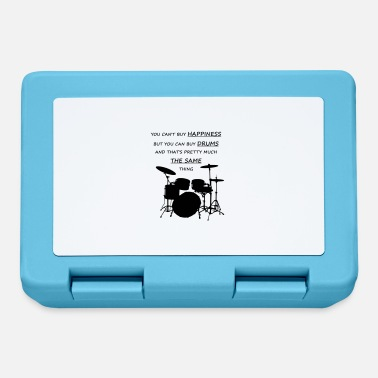 I Love Music You can't buy happiness but drums - Lunchbox