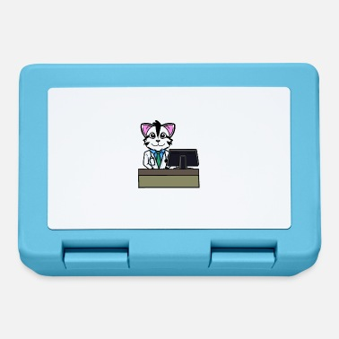 Workspace Cat pharmacist pharmacist professions workspace - Lunchbox