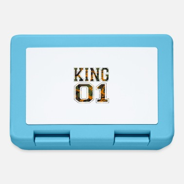 King 01 camouflage king - Lunchbox