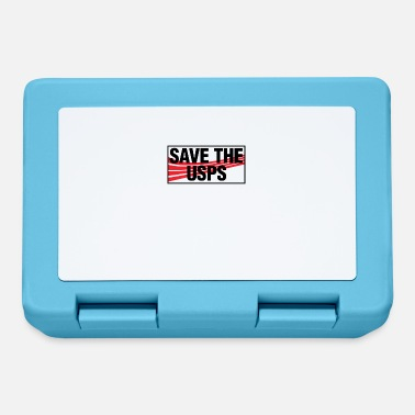 Protection Service Save The USPS Protect Postal Service Fun Gift - Lunchbox