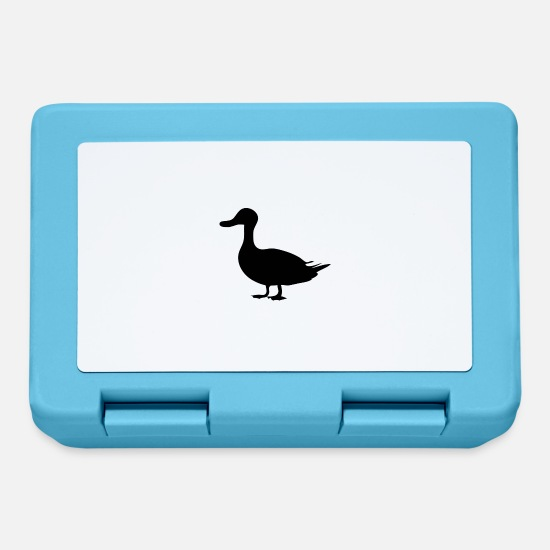 Duck Lunchboxes - Duck - Lunchbox sapphire blue