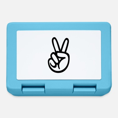 Hand Sign Victory (hand sign) - Lunchbox