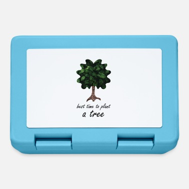 Sheet Tree Trees Environmental Protection Nature Conservation CO2 Oxygen - Lunchbox