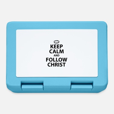 Christ-follower Keep Calm and Follow Christ - Lunchbox