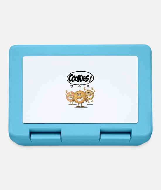 Cookie Lunchboxes - Cookies - Lunchbox sapphire blue