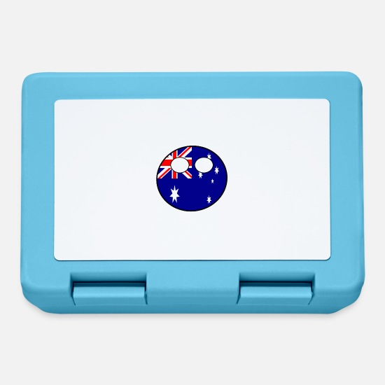 Country Lunchboxes - Countryball Country Ball Country Home Australia - Lunchbox sapphire blue