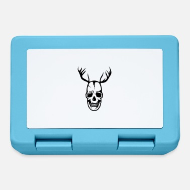 Skull Death skull Death Head Wood Deer - Lunchbox