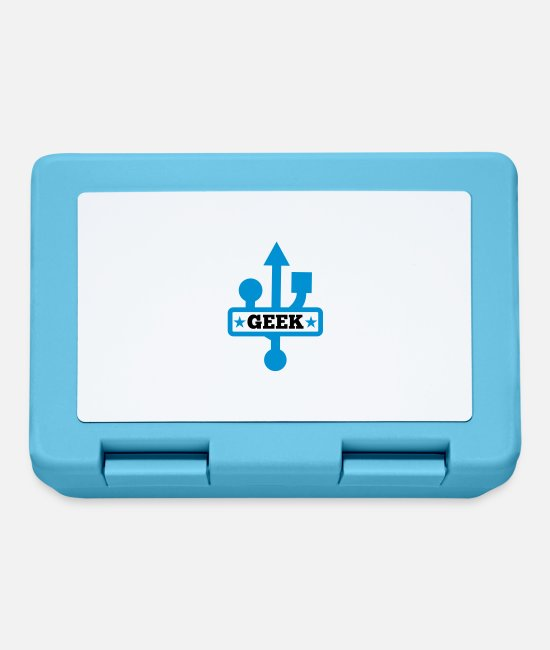 PC Lunchboxes - Geek USB - Lunchbox sapphire blue