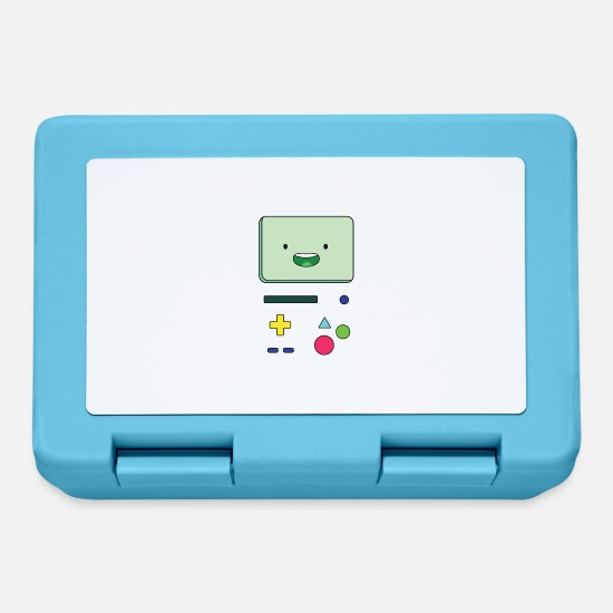 Console Lunchboxes - Beemo - Happy console - Lunchbox sapphire blue