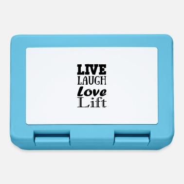 Live,laugh,love, lift - Lunchbox