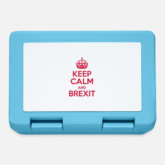 England Lunchboxes - Keep Calm and Brexit - Lunchbox sapphire blue