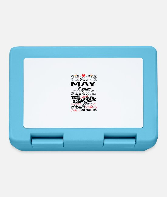 Queen Lunchboxes - MAY WOMAN - Lunchbox sapphire blue