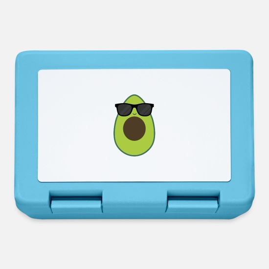 Avocado Lunchboxes - Trend Avocado Sunglasses - Lunchbox sapphire blue