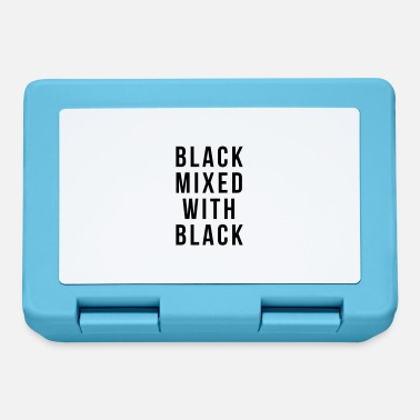 Black Black mixed with black - Lunchbox