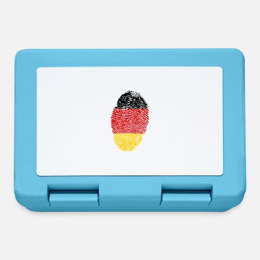 Imprint Imprint Germany Imprint with the flag Germany - Lunchbox