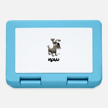 Wau Enillo Cartoon Dog Wau - Lunchbox