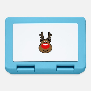 Rudolph, the red nosed Reindeer Christmas design - Lunchbox