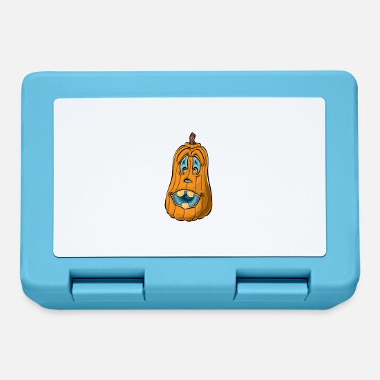 Humour Lunchboxes - Pumpkin - Lunchbox sapphire blue