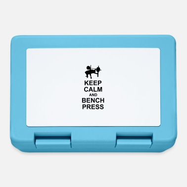 Bench Press Keep Calm and Bench Press - Lunchbox