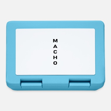 Macho macho - Lunchbox