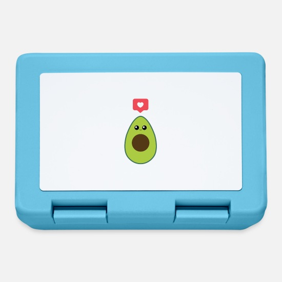 Avocado Lunchboxes - Liked trend avocado - Lunchbox sapphire blue