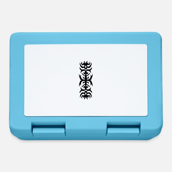 Symbol  Lunchboxes - tribal 68,small tribal - Lunchbox sapphire blue