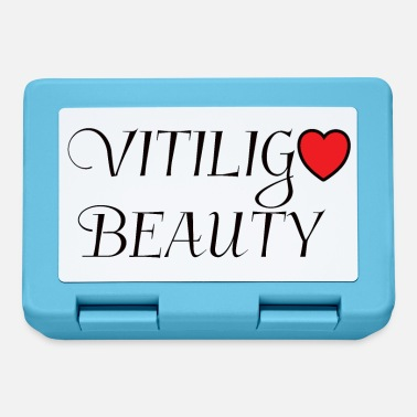 Spotted vitiligo heart - Lunchbox