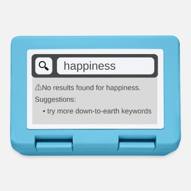 Happiness Search Happiness - Broodtrommel