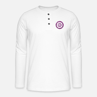 Circle Underwear target_of_desire_violet - Henley long-sleeved shirt