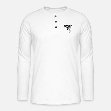 Break Dance Break Dance - Henley long-sleeved shirt
