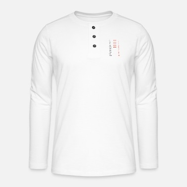 Pull The Root Square root, root of ... - Henley long-sleeved shirt