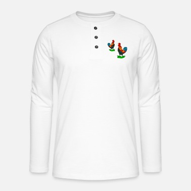Rooster rooster - Henley long-sleeved shirt