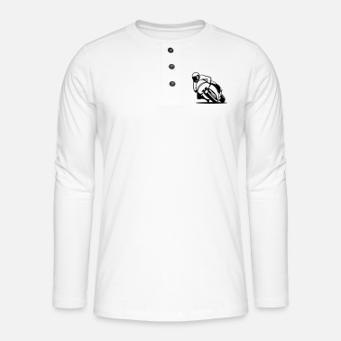 Motorcycle Racing Motorcycle racing - Henley long-sleeved shirt