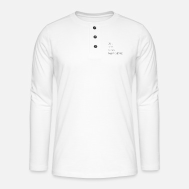 PROGRAMMERS - Coffee, energy and bugs - Henley long-sleeved shirt