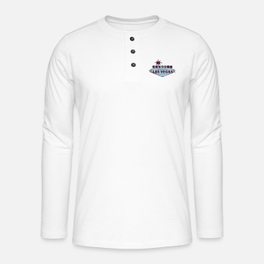 Las Vegas las vegas - Henley long-sleeved shirt