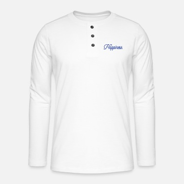 Happiness Happiness - T-shirt manches longues Henley