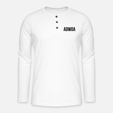 Adwoa Adwoa - Henley long-sleeved shirt